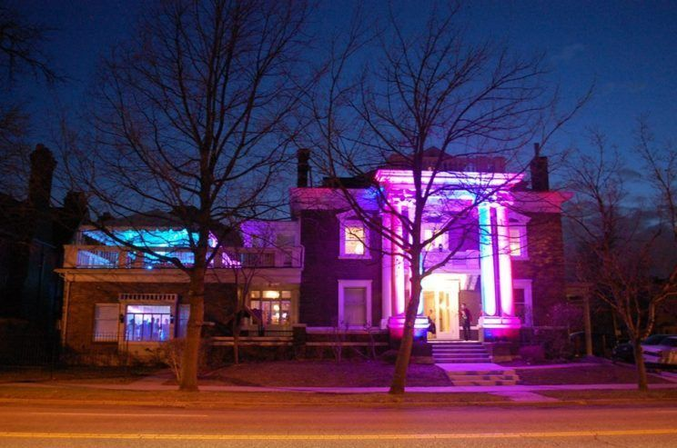 New Year's Eve Mansion Party Parkside Mansion The