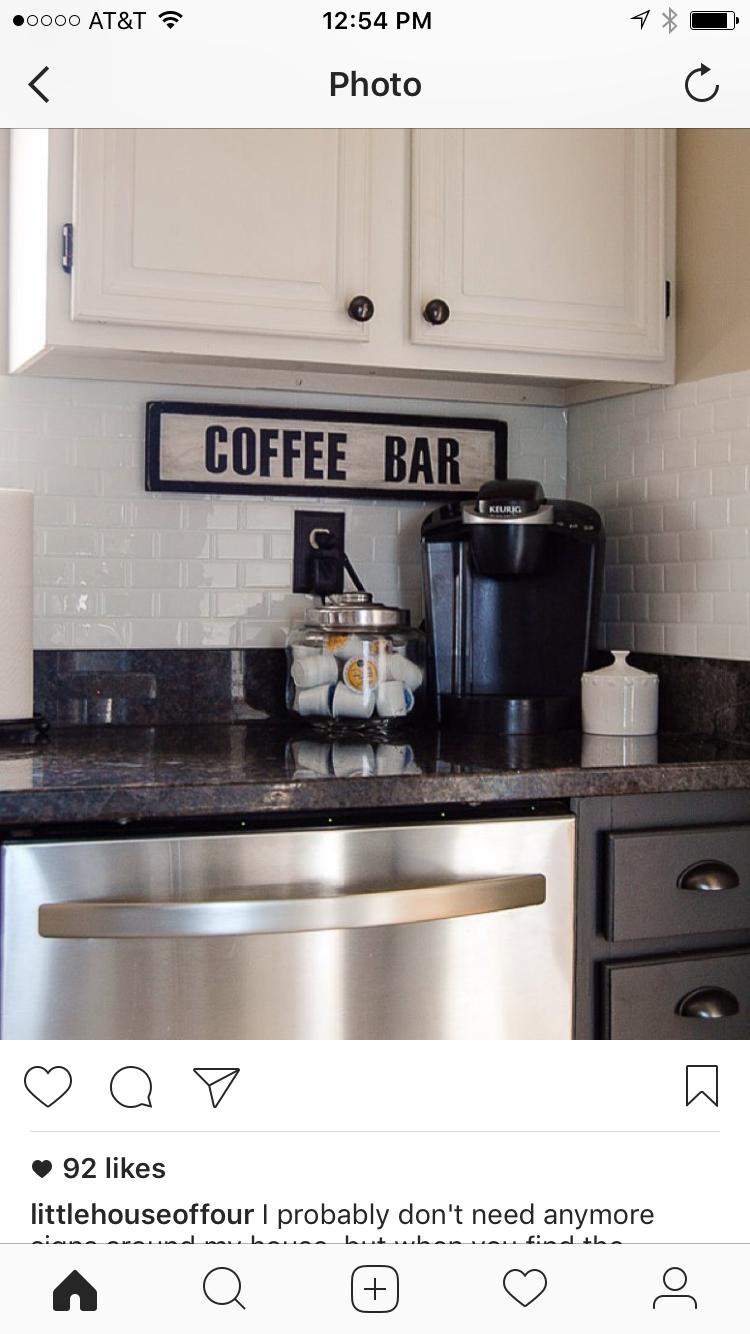 Pin by Michael Edward on Coffee Bar in 2019 Coffee bar