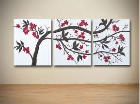 Image Result For Diy Multiple Canvas Painting Ideas Large Canvas Wall Art Triptych Art Multi Canvas Painting