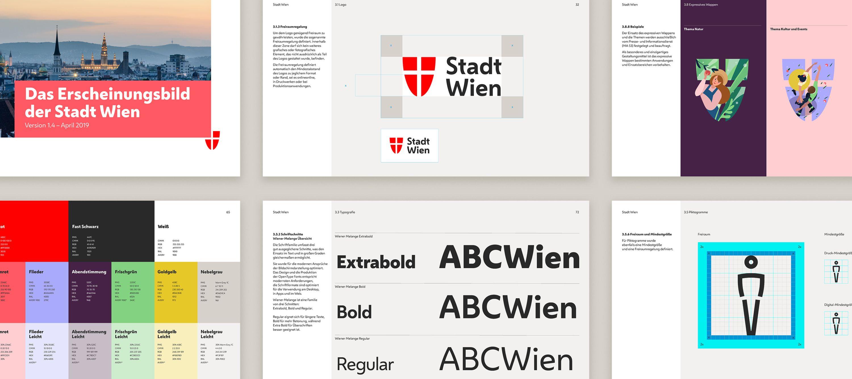 City Of Vienna Saffron Brand Consultants Identity Logo Brand Guidelines Brand Communication