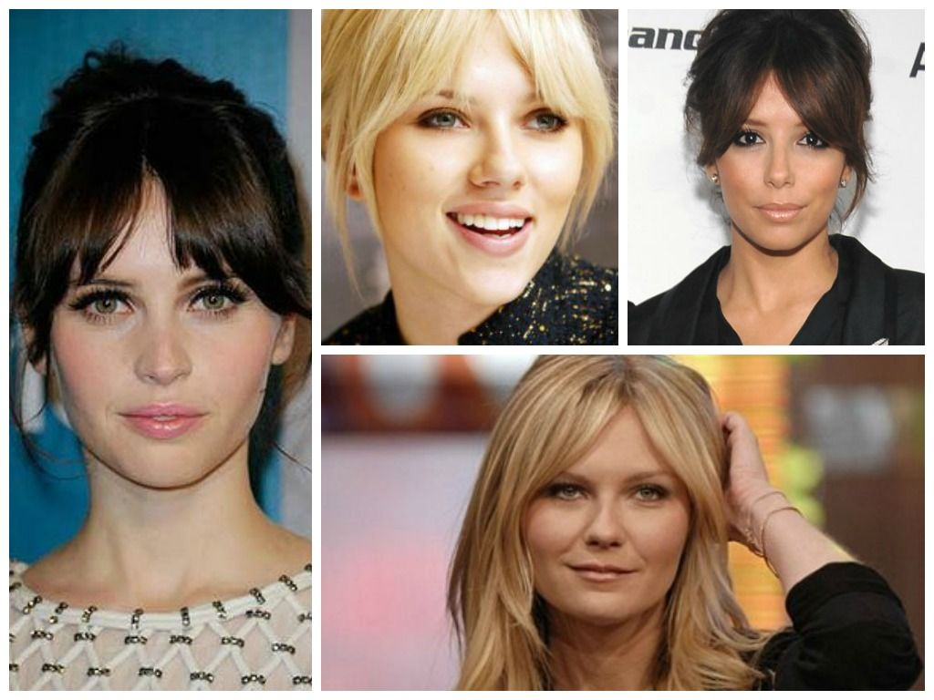 best bangs for a long face shape | beauty to-do and how-to