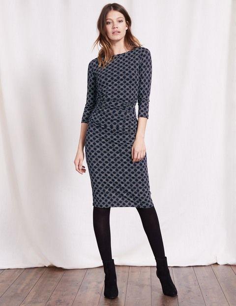 Dependable Boden Pencil Skirt Dark Gray Wool Blend Peplum Flared Hem Nwt Size Us 6 Women's Clothing