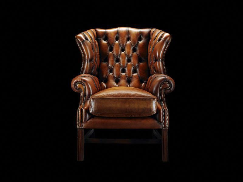Engelse Chesterfield Bureaustoel.Fauteuil De Style Chesterfield Samuel Johnson Chesterfieldchair