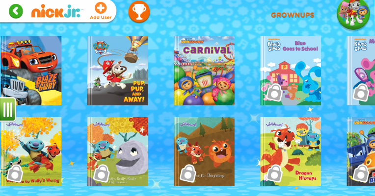 Nickelodeon gets into ebooks with new reading app for