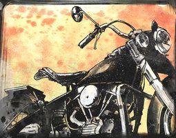 Harley Davidson by Devin-Francisco