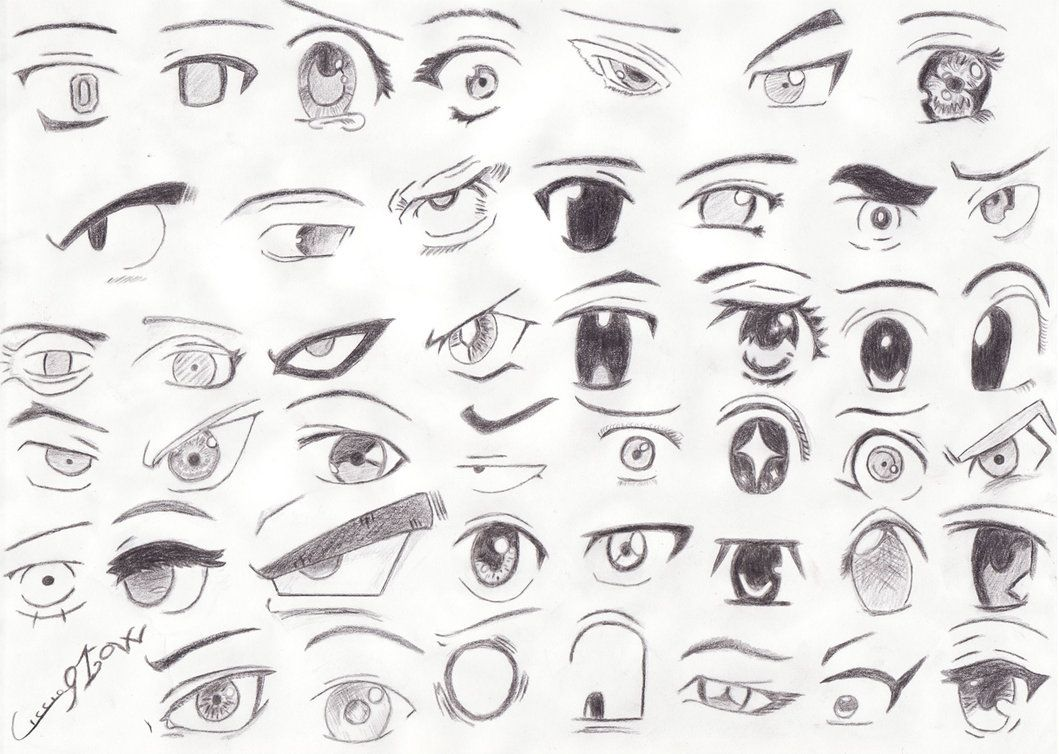 Find This Pin And More On Anime How To Draw Manga Eyes