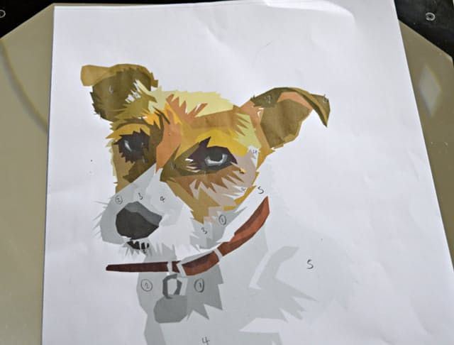 Ok, you don't have to paint a portrait of your pet. You can extend it to family members or partners or whomever, but look at how cute that portrait is. Claire's tutorial is super simple, all you need is an app, a willing subject and some paint! Skill Level: Easy Time Required: A couple of hours Project Cost: $20