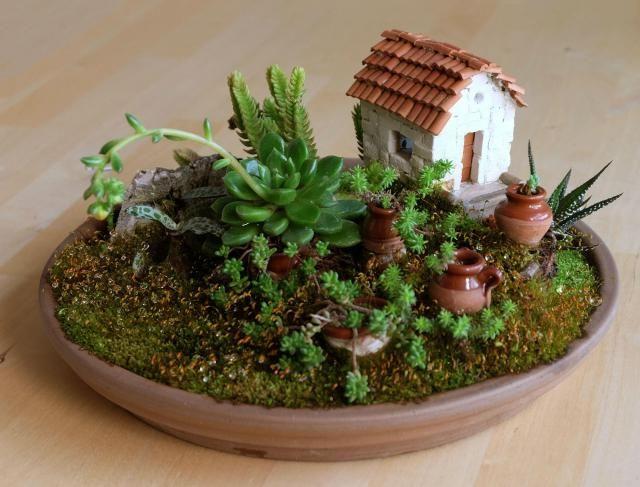 Mini estructuras que albergan vida vegetal y que evolucionan más