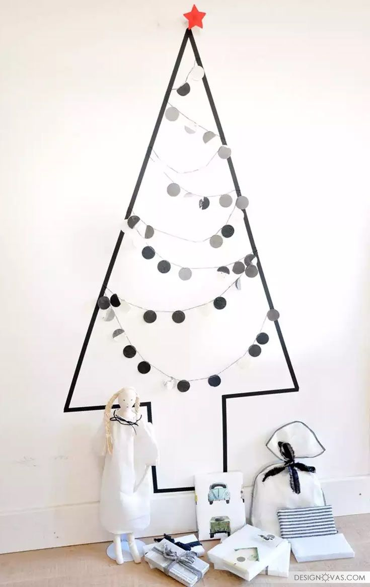 2. This Christmas tree alternative is perfect for all the ...