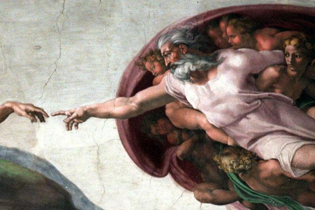 Essay Explain Mormon Teaching On Becoming Like God Michelangelo Painting Sistine Chapel