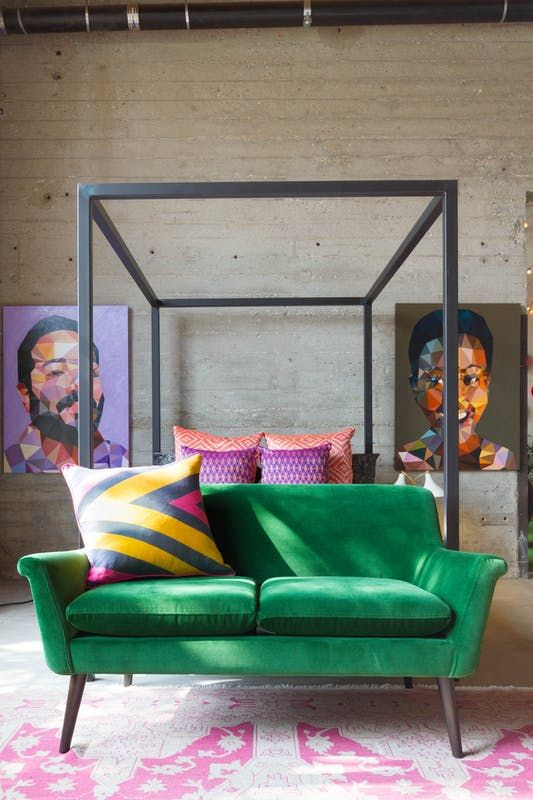 The Couch Trend For 48 Stylish Emerald Green Sofas Kanapes Fascinating Right At Home Furniture Concept Interior