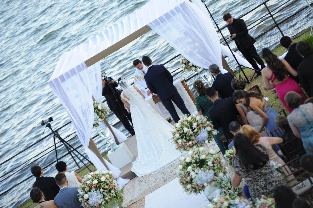 casamento a beira lago, clube Ases DF, casamento lago Paranoá
