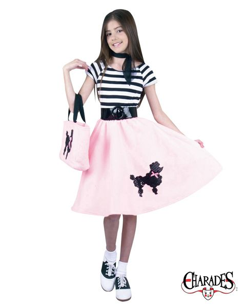 Poodle Skirt Fashion I Love Pinterest Poodle skirts, Poodle - halloween ideas girls
