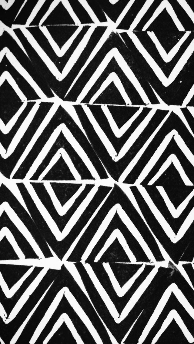 Black White Abstract IPhone Wallpaper