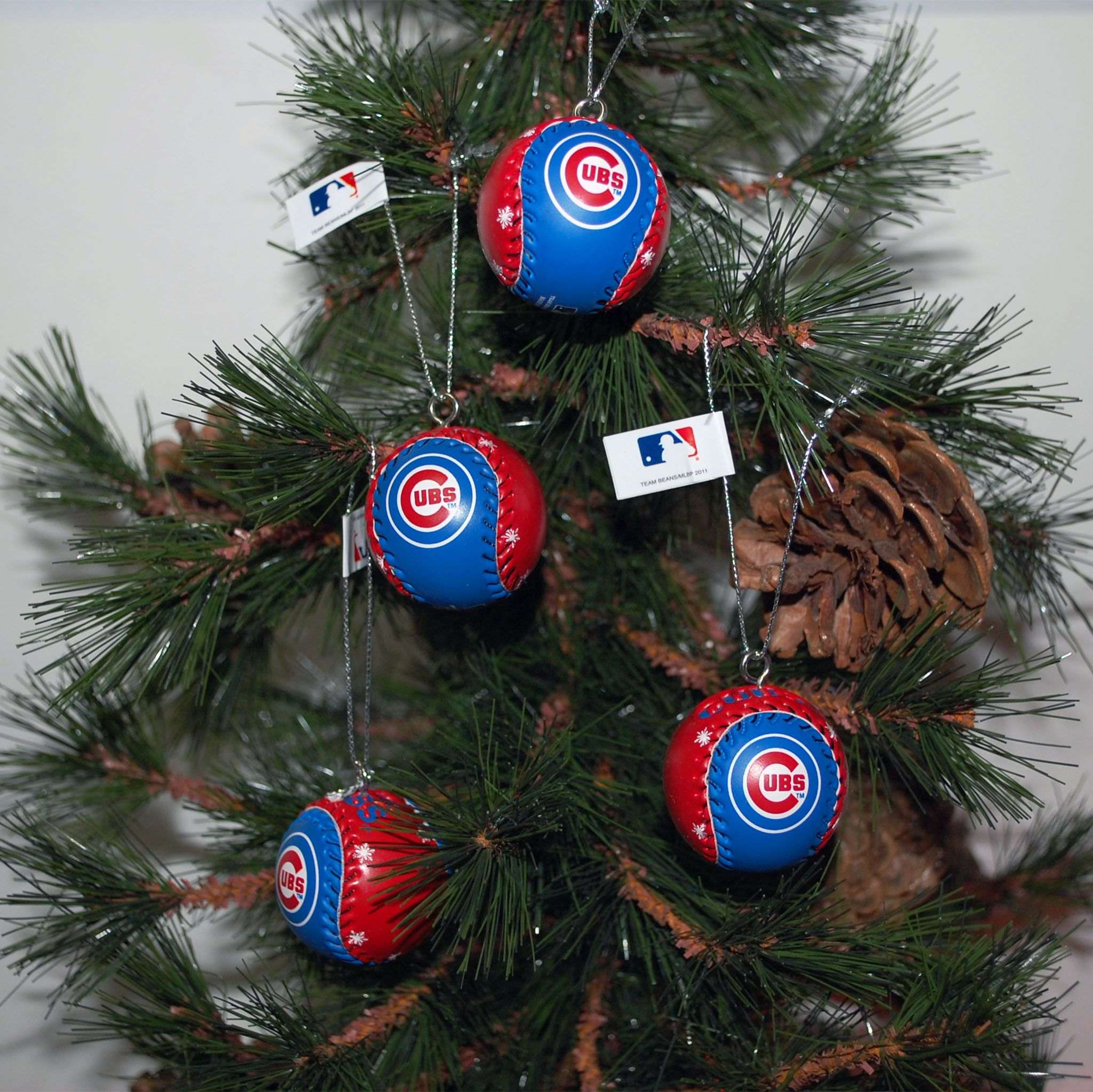 Baseball Ornaments Cubs