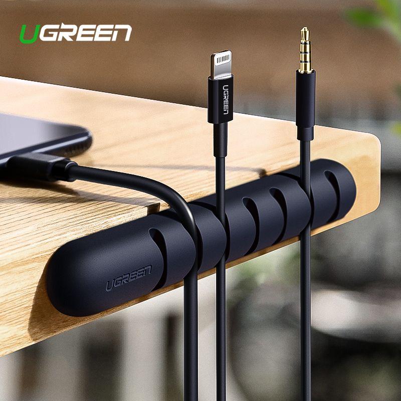 Ugreen Kabel Veranstalter Silikon Usb Kabel Wickler Flexible Kabel