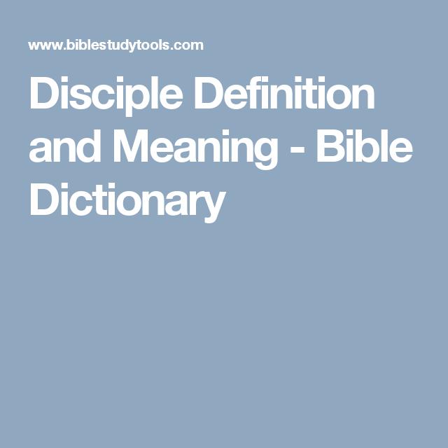 disciple definition