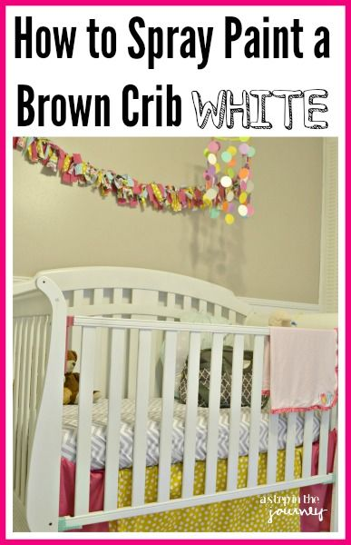 bc1d43c880cbd Wanting to shake things up and paint your child s crib another color! Here  are a few tips to make that happen!