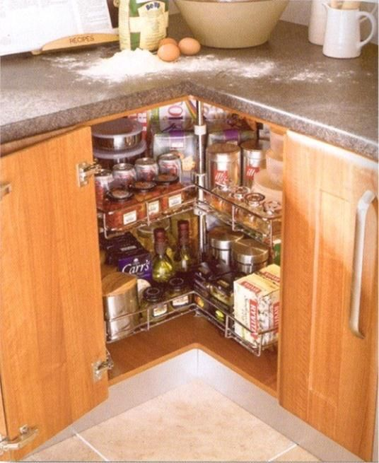 Corner Kitchen Storage Cabinet Brilliant In Home Decoration - Corner kitchen cabinet ideas