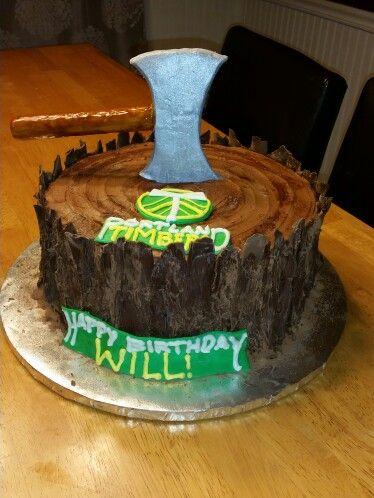 Strange Portland Timbers Birthday Cake Cake Desserts Food Birthday Cards Printable Giouspongecafe Filternl