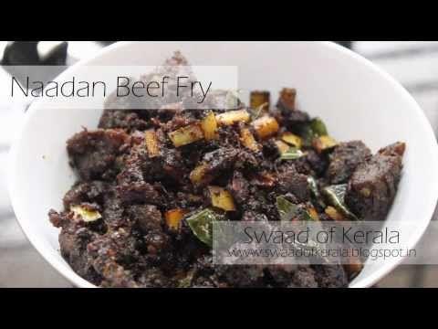 Naadan Beef Fry Kerala Recipe Youtube Mia Food Pinterest