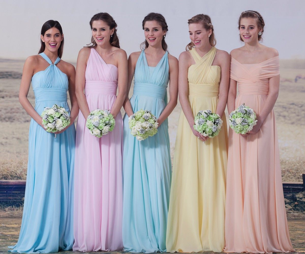 6-way Convertible Dress  Wedding: bridesmaids  Pinterest  Style ...