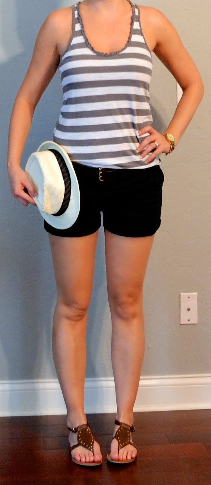 Outfit Posts: (outfit 2) one suitcase: beach vacation capsule wardrobe | summer outfits women over