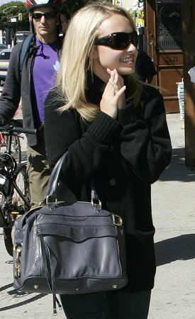 Hayden Panettiere Style Rebecca Minkoff Morning After Bag