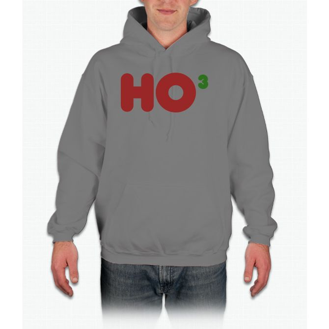 Ho Ho Ho 3 Hoodie