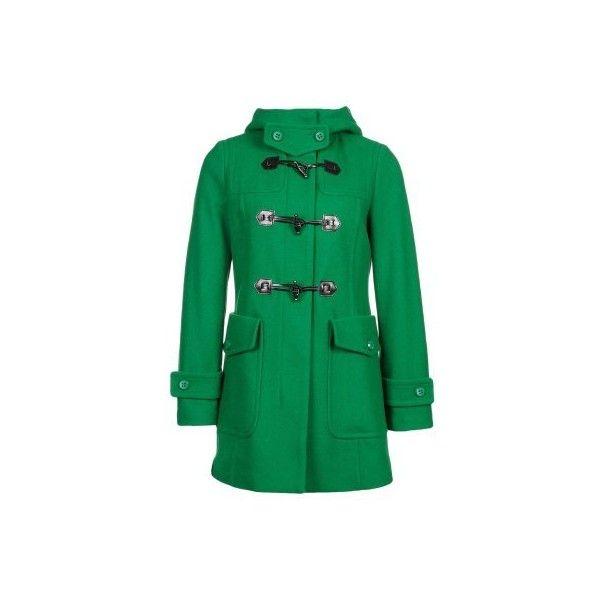 a535f3cb8e639 Benetton Cappotto classico verde ( 190) ❤ liked on Polyvore featuring  accessories