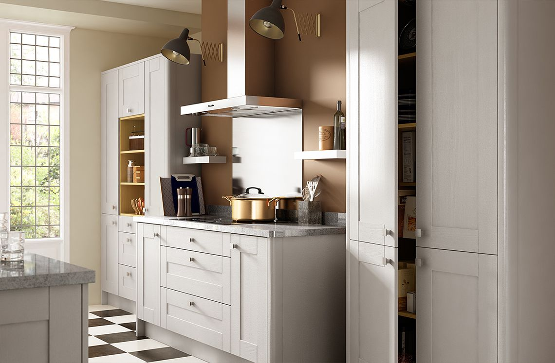 Sherwood Range Benchmarx kitchen, Shaker style kitchens