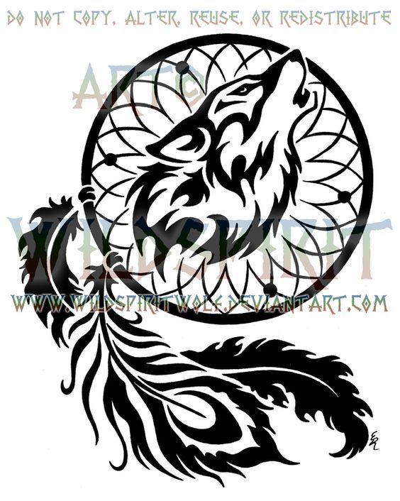 40c3c3c3744bc Peacock Phoenix Feather Wolven Dreamcatcher Design by  WildSpiritWolf.deviantart.com on @deviantART