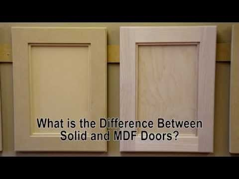 Mdf Vs Wood Why Mdf Has Become So Popular For Cabinet Doors Home