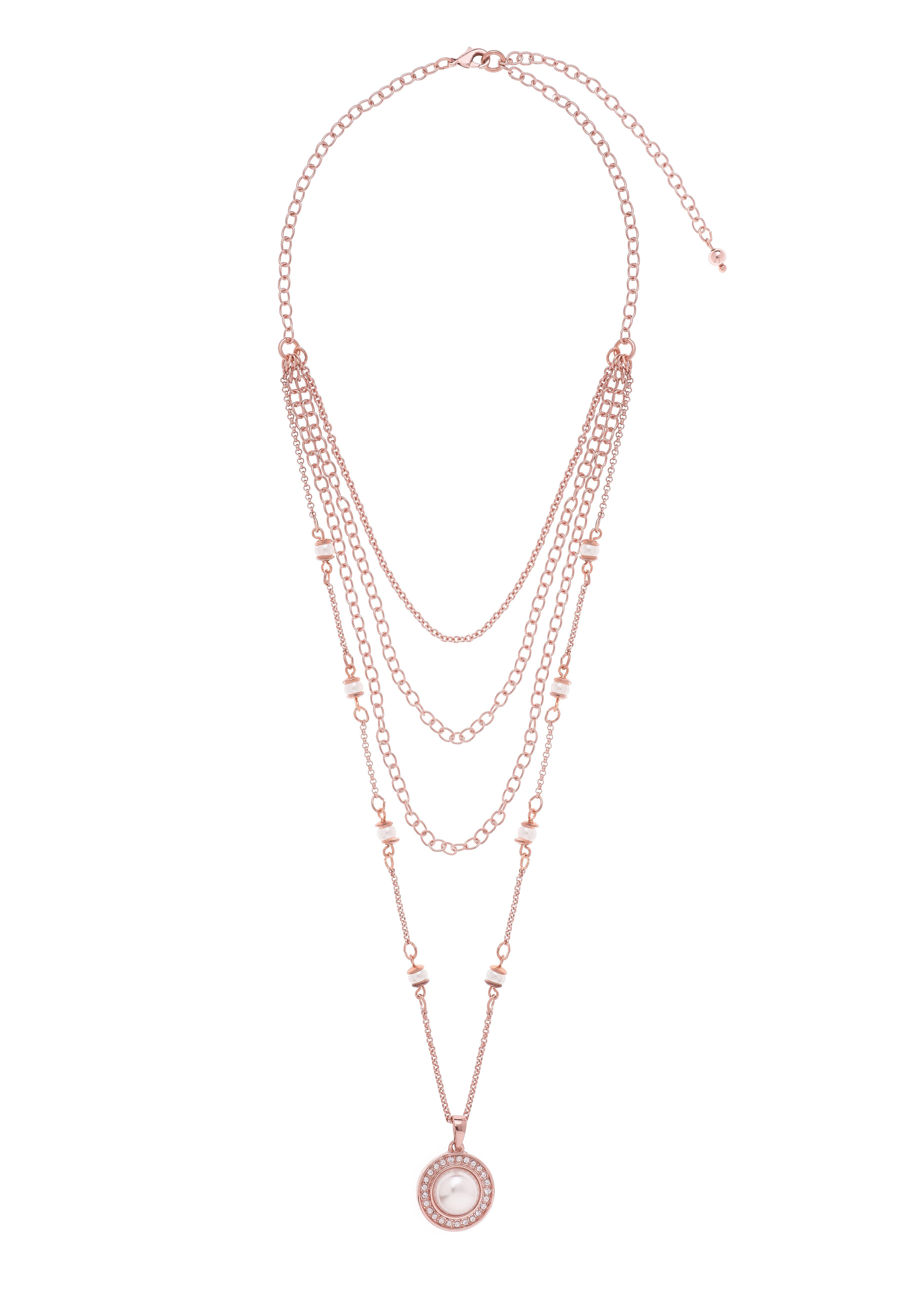 fe929960239 Collar modelo: 118673L Collar de 42cm de largo y 8cm de extensión ...