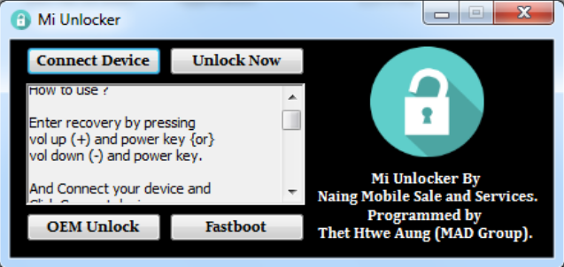 Xiaomi Frp Unlock Tool Download 100 Working Xiaomi Unlock