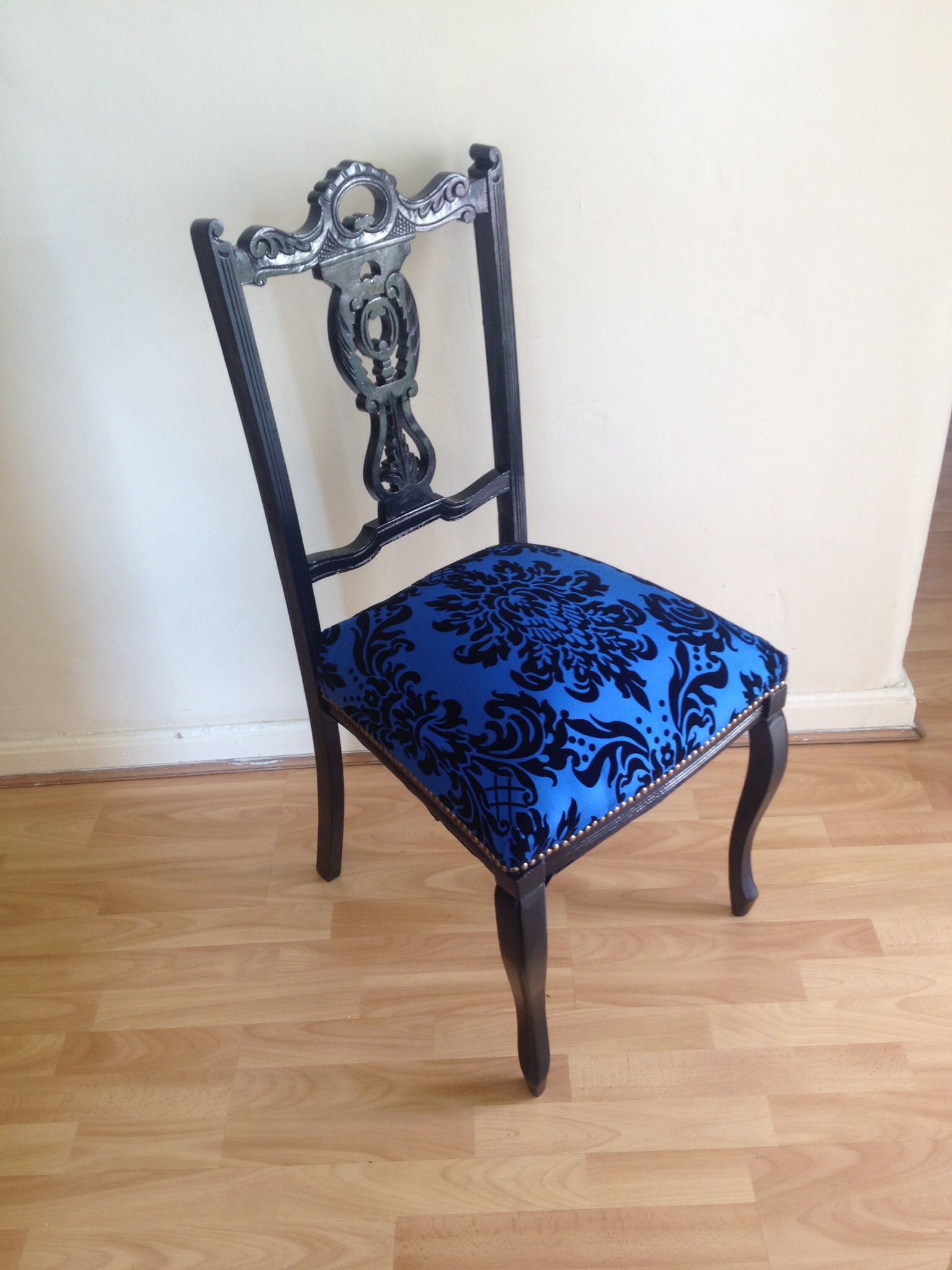 Queen Anne Chair Upcycled Up cycled furniture
