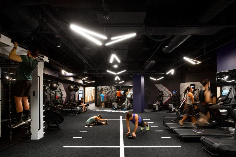 A Modern Gym In Seattle You D Actually Like To Workout In Gym Design Interior Gym Design Gym Interior