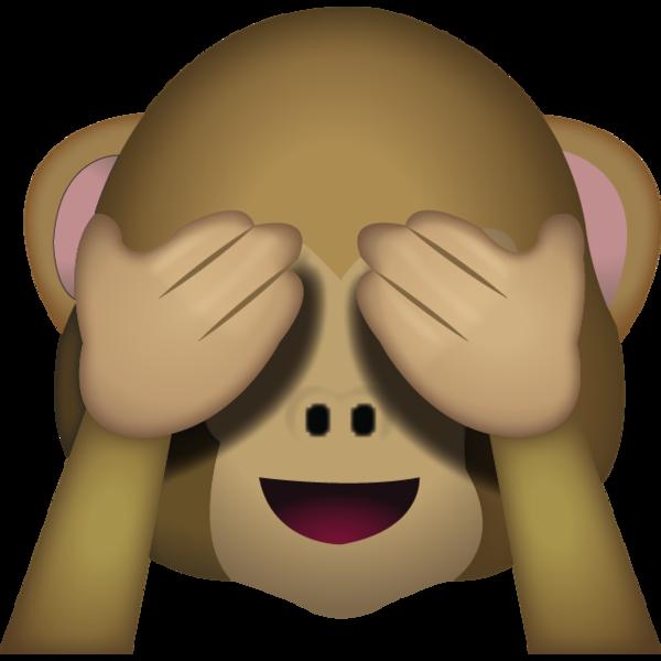 See No Evil Monkey Emoji Monkey Emoji Funny Emoji Emoji Pictures