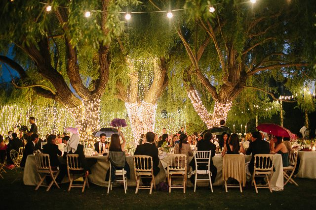 bodas bonitas decoracion bodas mesas serafin casarse luces bautizo noche vestido bombillitas boda al aire libre