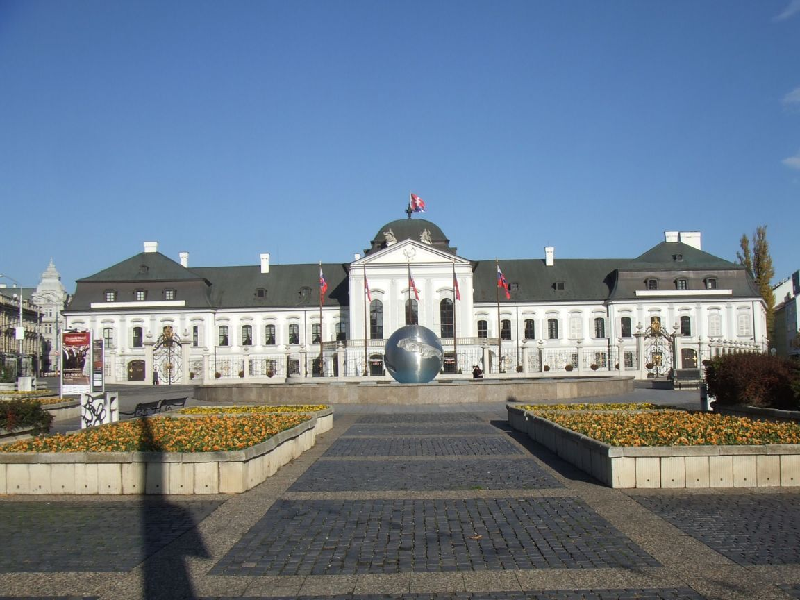 The Grassalkovich Palace  is a palace in Bratislava and the residence of the president of Slovakia