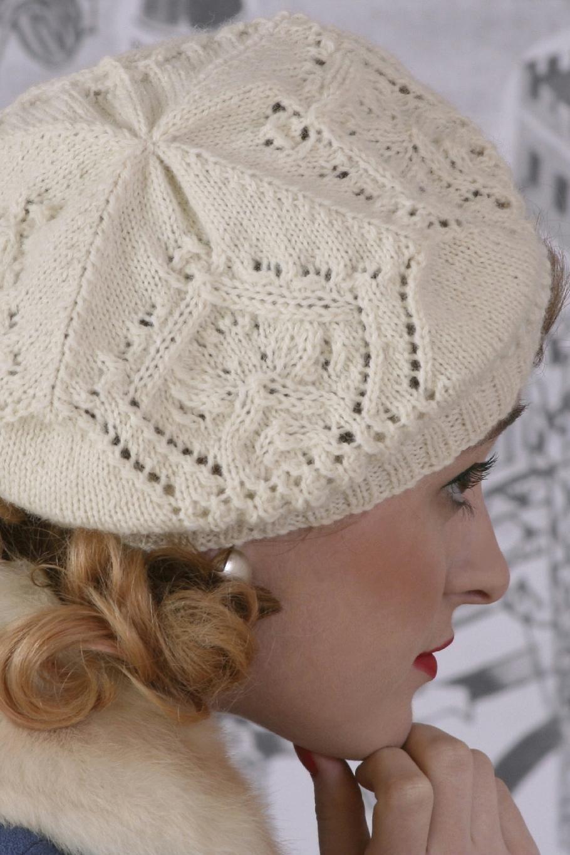 Pattern - Crowning Glory | Lace knitting, Stocking stitch ...