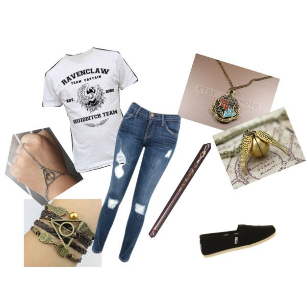 """""""Ravenclaw"""" by warriorcameron on Polyvore"""