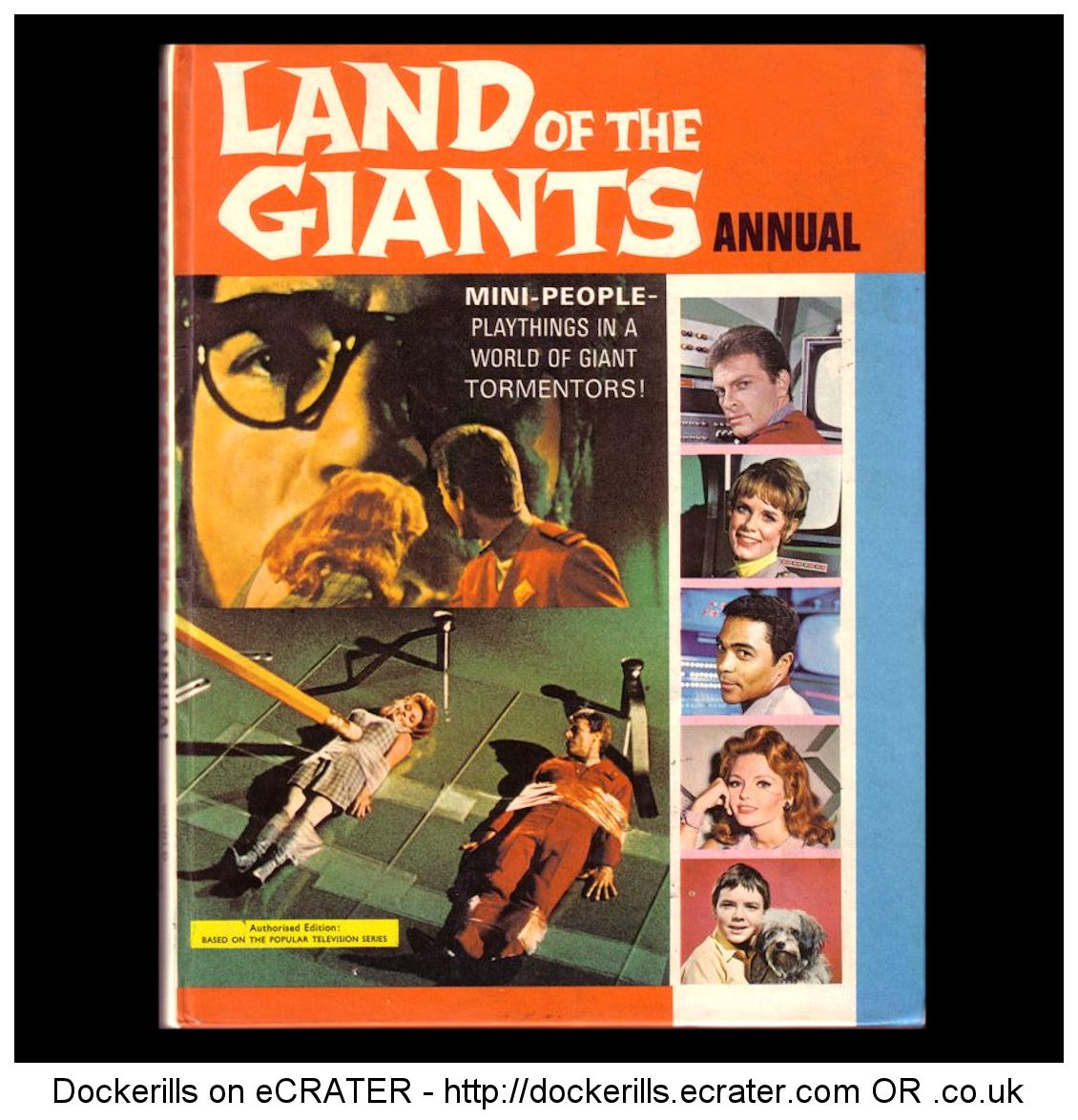 Land Of The Giants Annual 1969.