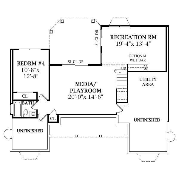 TheHouseDesigners-2808 Construction-Ready Small Country House Plan with Crawl Space Foundation (5 Printed Sets) - Walmart.com - Walmart.com