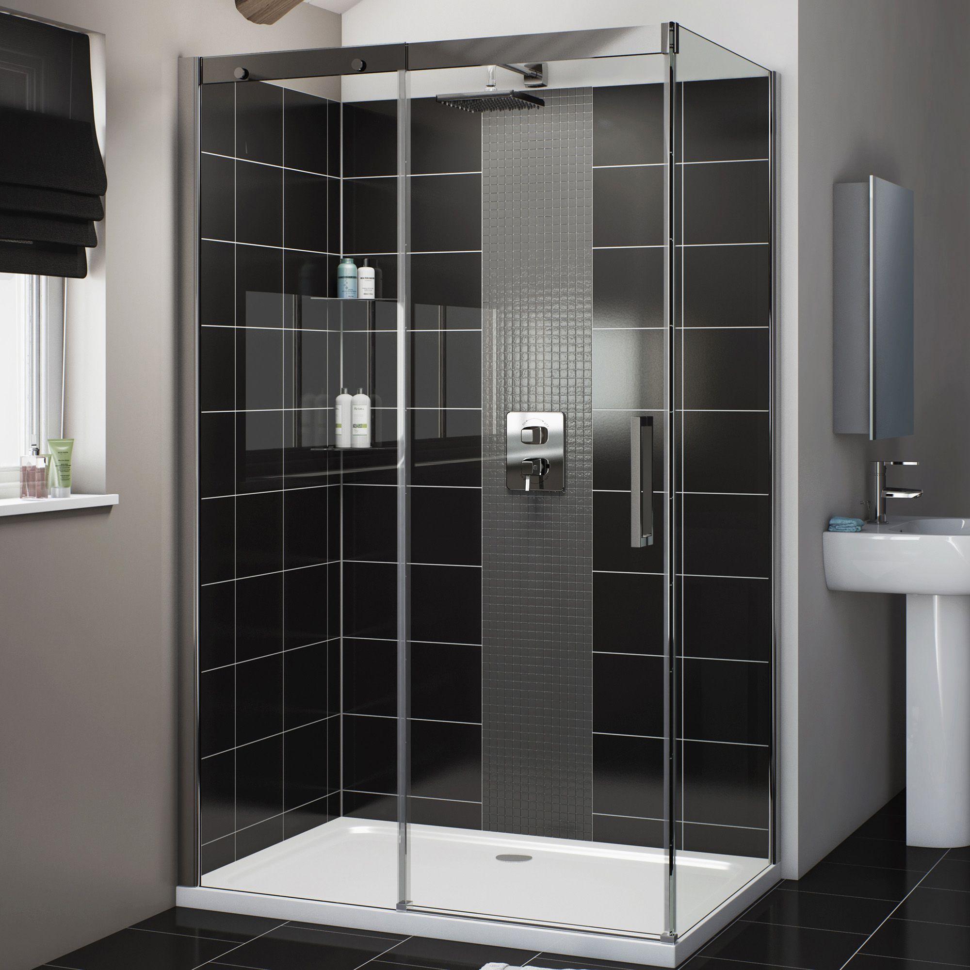 Cooke & Lewis Carmony Rectangular LH Shower Enclosure