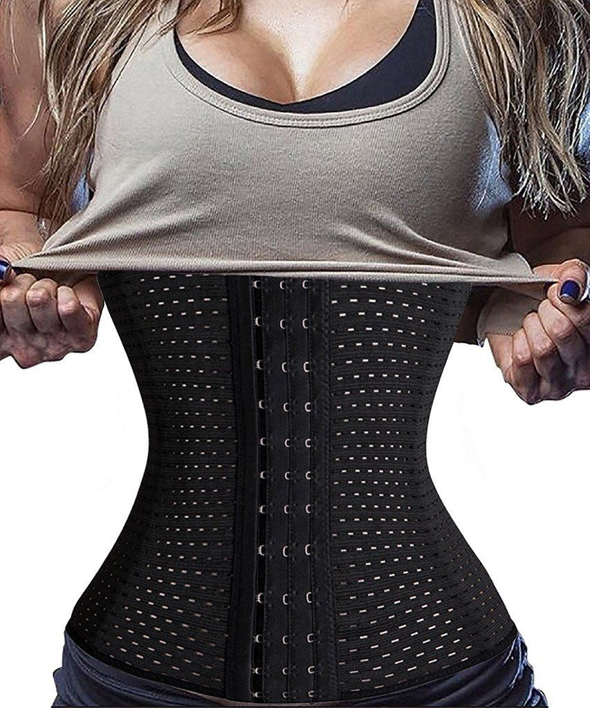6c2bbd91b4 DODOING Hourglass Corset Waist Trainer Long Torso Tummy Fat Burner Body  Shaper   Details can be found by clicking on the image. (Note Amazon  affiliate link)