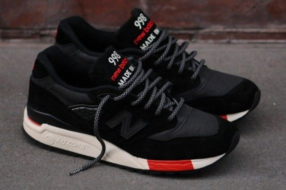 best value a7ac5 b29cd New Balance 998 - Black - Red - SneakerNews.com | Sneakers ...