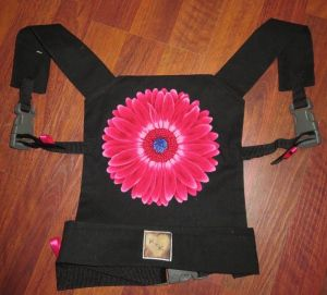 DIY Doll carrier with buckles