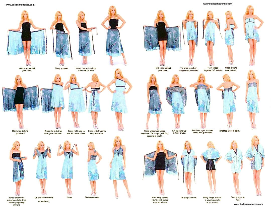 b474e87d Pareos falda transformables multiusos | bikinis | Vestido ...