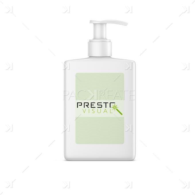 Skin Care Moisturising Cream Pump PSD mockup